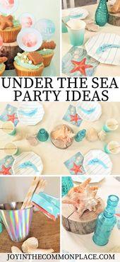 Throw an Under the Sea & Dolphin Themed Birthday Party