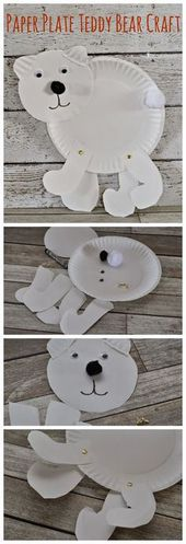6 Cool art and craft ideas using paper plate