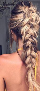 10 Ultra-Pferdeschwanz-Frisuren für langes Haar & Parties! – Madame Friisuren | Madame Frisuren #pferdeschwanz Frisuren 10 Ultra-Pferdeschwanz-Frisur…