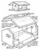 Printable Birdhouse Plans Pdf Wooden Bird Feeders Bird House Kits Bird Feeder Plans