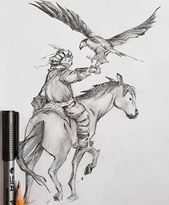 Tattoo Design Sketch Nomad Mongolei – Jaimy Sleeuwits