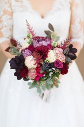 Autumn and winter wedding: flowers and bridal bouquet  – Hochzeit Planung