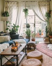 Bohemian Home Decor and Design Ideas #WoodWorking