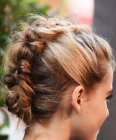 20 beautiful updos for short hair – hairstyles half length