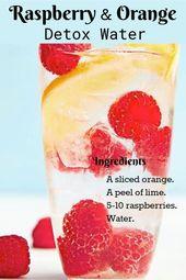 10 Detox-Wasser-Rezepte zum schnellen Abnehmen zu Hause  – Food and Drink – #abn…