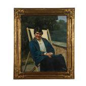 Porträt einer Alten Frau von Luigi Brignoli Ölgemälde 1932