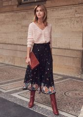 Sézane – Bettina skirt – #Bettina #jupe #Sézane …