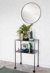 #furniture ideas #furniture # entrance area #wall mirror #acc