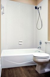 Subway Tile – MirroFlex – Tub and Shower Walls