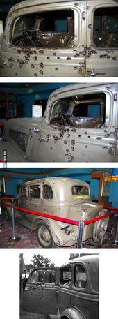 Das letzte Auto von Bonnie Elizabeth Parker und Clyde Chestnut Barrow – Special …   – schöne autos