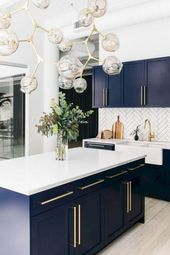 54+ Stunning Modern Mid Century Kitchen Remodel Ideas