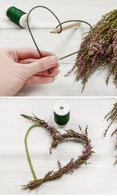Hochzeitsdeko selber machen – 5 einfache Blumendeko-Ideen für die Hochzeit – Hochzeitskis