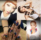 Mode gyaru model Momoko Ogihara Gyaru | Gal | Gyaru makeup | Gal makeup | Kawai …