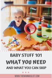 Child Registry 101: What you really need the primary yr