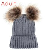 Cute Winter Mom Women Baby Kids Crochet Knitted Hat Caps – Products