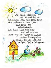 Abschied Kindergarten