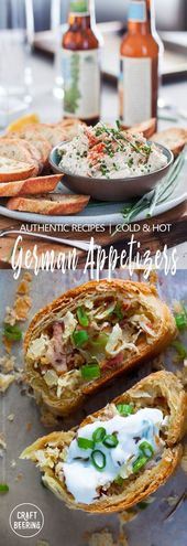 German Appetizers Compilation – Authentic Recipes