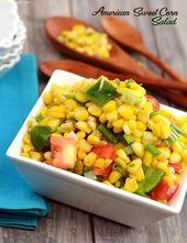 American Sweet Corn Salad
