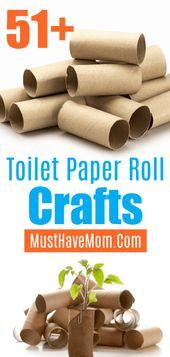 51+ toiletpapier rol ambachten! Toiletpapierrollen voor kinderen zijn leuk en upcy …