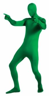 Morph Costume Adult Skin Suit Spandex Bodysuit Zentai Halloween Fancy Dress Y8
