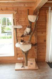 Bildergebnis für das Verkratzen des Baums selbst gemacht   – Kratzbaum