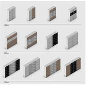 Jutzler sliding door wardrobe 2 doors Gray, Black, Glass, 152.2x220x46 cm Jutzlerjutzler   – Products