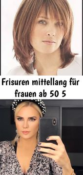 Frisuren mittellang für frauen ab 50 5
