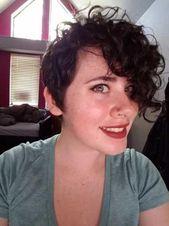 Coole kurze seitliche Haarschnitte für junge Damen