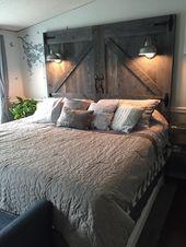 25 rustikale Schlafzimmer-Ideen, die Ihr kreatives…