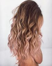20 rose gold hair color ideas + tips on how to dye #color #haircolor #ideas #t …  – Hairgoals