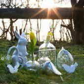 Combinez la décoration printanière avec une jolie décoration de Pâques   – Fesches Wohnzimmer