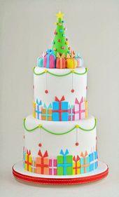 Más de 40 ideas de pasteles de Navidad   – Cake