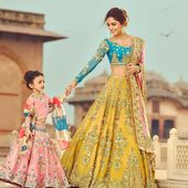 BUY BEAUTIFUL DESIGNER INDIAN WEDDING DRESS FOR BRIDE # B2067
