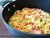Pennies & Pancakes: Easy One-Pot Pasta {Recipe & Cooking Method}