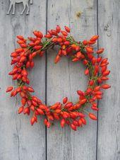 Ideen zur Dekoration im Herbst und Weihnachtszeit, für Garten und Haus zur Gest …  – Dekoration im Herbst
