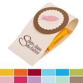 Baby Cards Gastgeschenk Kommunion, Konfirmation, Taufe, mit Schokolade, in 12 Farben