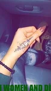 40 Amazing Finger Tattoo for Women You'll Love – So Cool, But One …