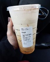 When you forget your coffee and you just feel that it's necessary to get through…   – Drinks