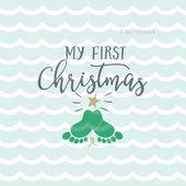 Mein erstes Weihnachts-SVG Das erste Weihnachts-SVG meines Babys von SVGoriginals   – Cricut