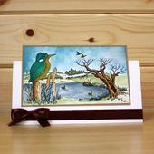 """CS134D """"Eisvögel"""" Clear Set enthält 15 Briefmarken. Entworfen von Sharon Be … – CARDS SHARON BENNET"""