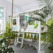 Kids Back To Jungle: 20 Indoor Jungle Themed Ideas – Boy Bedroom Decor Ideas