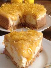 Ein Full Palate Festival / Käsekuchen mit Zitrone – Kuchen