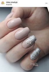 Nails Classy Pink Silver 62+ Ideen für 2019 #nails #AcrylicNailsForSummer   – Acrylic Nails For Summer