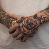 70 Brilliant Hand Tattoos for Men and Women – Page 3 of 7