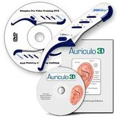 Stimplus Pro with Auriculo 3D Auriculotherapy Software