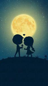 60 Cute Cartoon Couple Love Images HD – #Cartoon #…