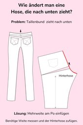 Jeans Sew Part 2: Fit changes for pants