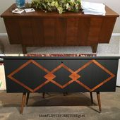 Mid Century Modern Makeover Lane Cedar Chest  Painted Furniture  General Finishe…  – Kochen