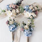 burgundy navy boutonnieres ElegantArrangements8 Boutonnieres buttonholes wedding boutonnieres Winter boutonnieres