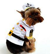 Disfraz de Capitán de Mar   – Perros